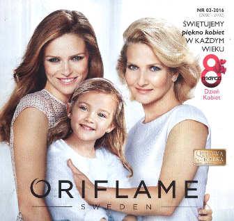 Oriflame katalog promocyjny nr 3 2016
