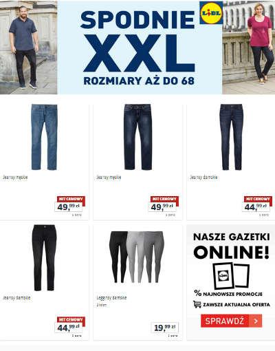 Lidl Moda XXL