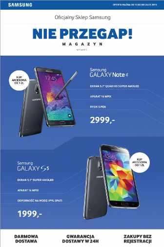 Samsung Gazetka promocyjna