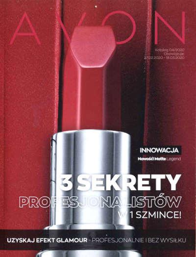 Avon Katalog promocyjny Nr 4 2020
