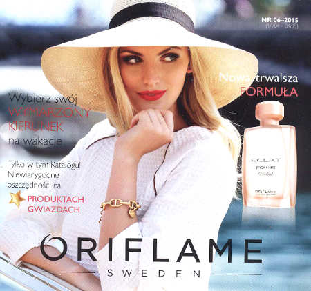 Oriflame katalog promocyjny nr 6 2015