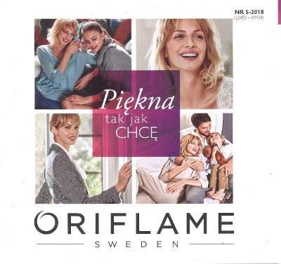 Oriflame katalog promocyjny nr 5 2018