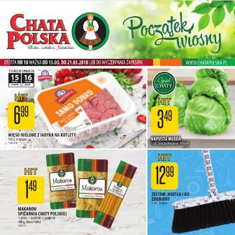 Chata Polska Gazetka promocyjna