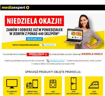 Promocja internetowa Media Expert