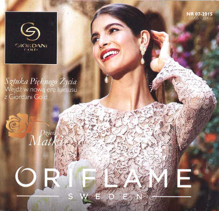 Oriflame katalog promocyjny nr 7 2015