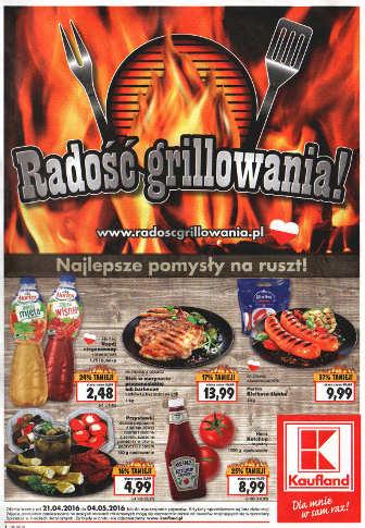 Kaufland dodatek grill