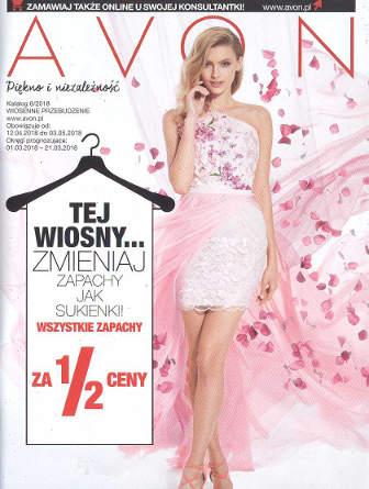 Avon Katalog promocyjny Nr 6 2018