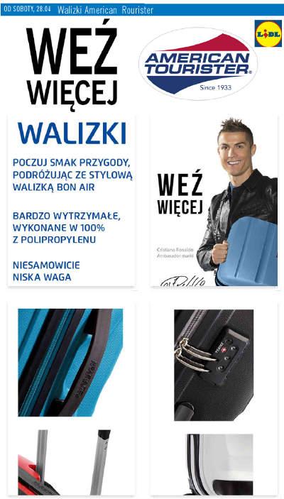 Lidl Walizki