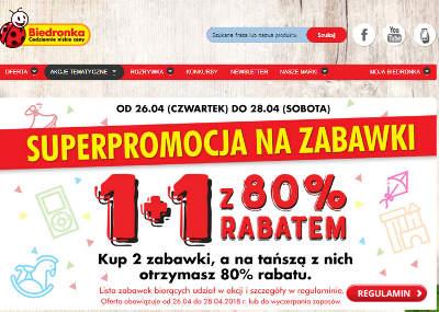 Biedronka oferta promocyjna