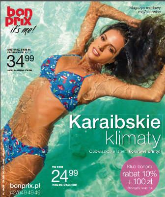 BonPrix Katalog maj czerwiec 2018
