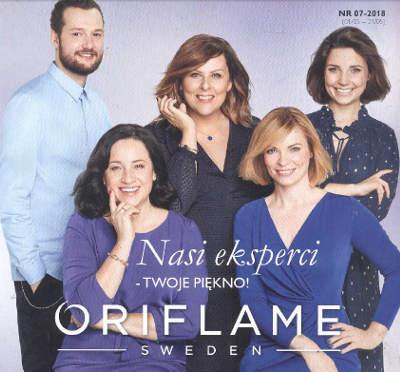 Oriflame katalog promocyjny nr 7 2018