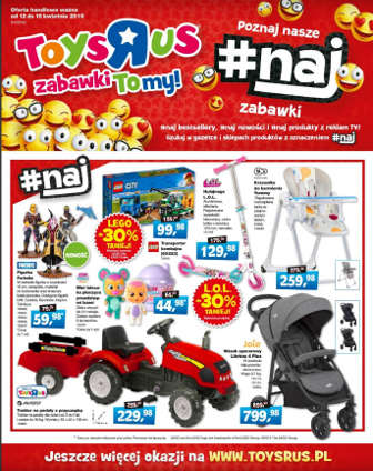 ToysRus gazetka Online