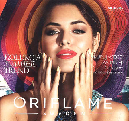Oriflame katalog promocyjny nr 8 2015
