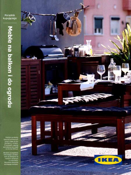 Katalog IKEA Balkon i ogród