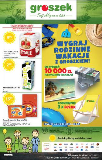Groszek gazetka promocyjna