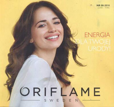 Oriflame katalog promocyjny nr 8 2018