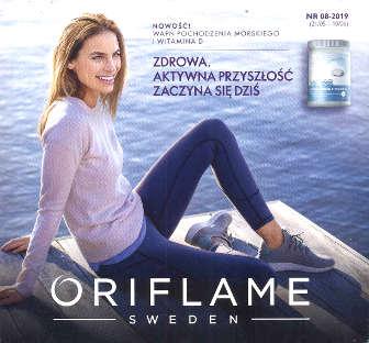 Oriflame katalog promocyjny nr 8 2019