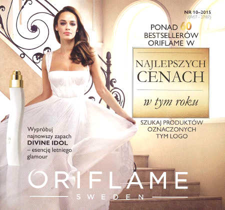 Oriflame katalog promocyjny nr 10 2015