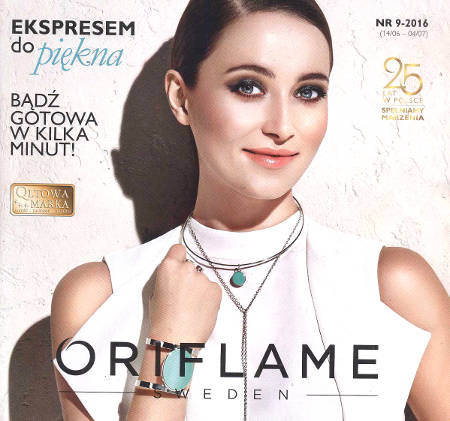 Oriflame katalog promocyjny nr 9 2016