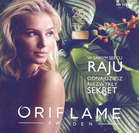 Oriflame katalog promocyjny nr 10 2016