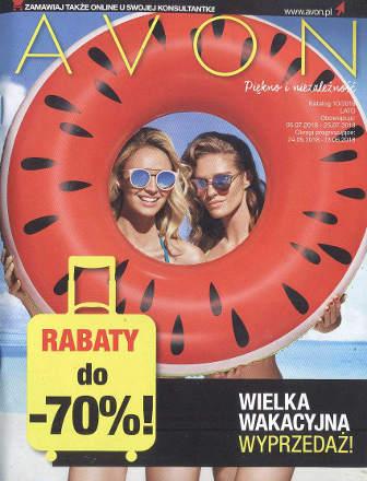 Avon Katalog promocyjny Nr 10 2018