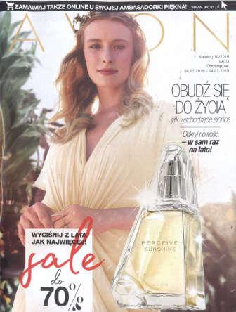Avon Katalog promocyjny Nr 10 2019