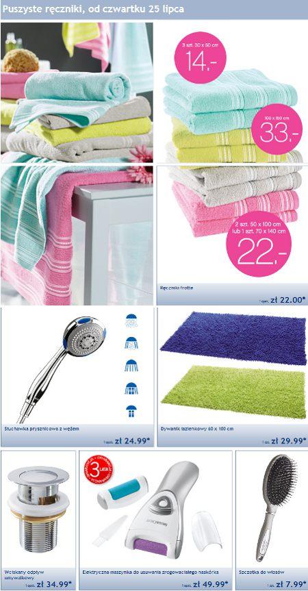 Promocja Ręczniki