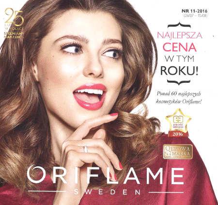 Oriflame katalog promocyjny nr 11 2016
