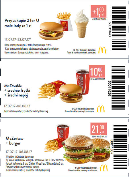 mc donalds promocje menu restauracje konkurs. Black Bedroom Furniture Sets. Home Design Ideas