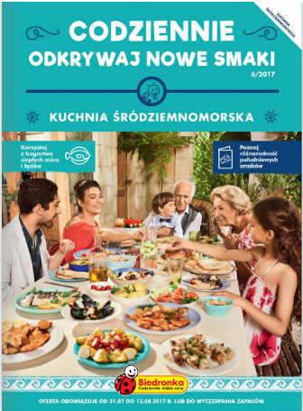 Biedronka Gazetka Kuchnia śródziemnomorska