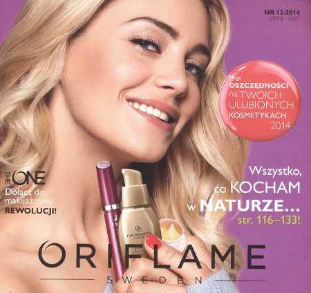 Oriflame katalog promocyjny nr 12 2014