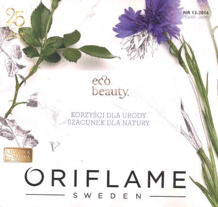 Oriflame katalog promocyjny nr 13 2016
