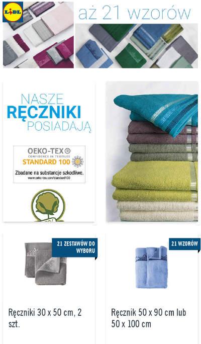 Lidl Ręczniki