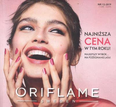 Oriflame katalog promocyjny nr 12 2019