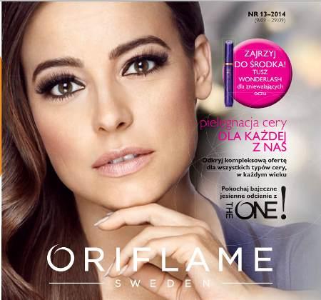 Oriflame katalog promocyjny nr 13 2014
