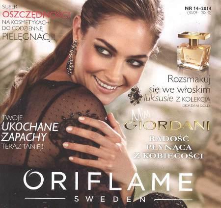 Oriflame katalog promocyjny nr 14 2014
