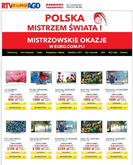 Promocje RTV Euro AGD