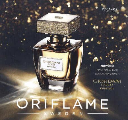 Oriflame katalog promocyjny nr 14 2015