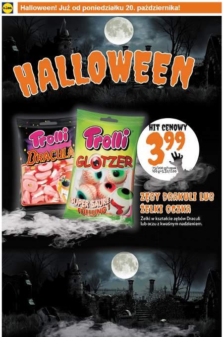 Lidl Halloween słodycze