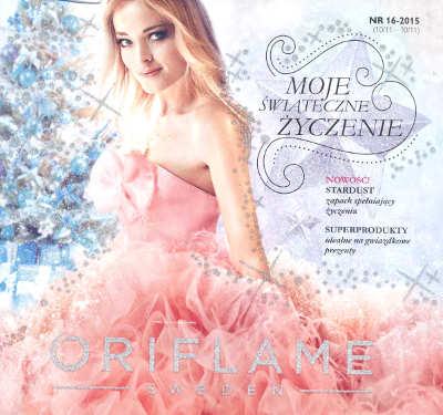 Oriflame katalog promocyjny nr 16 2015