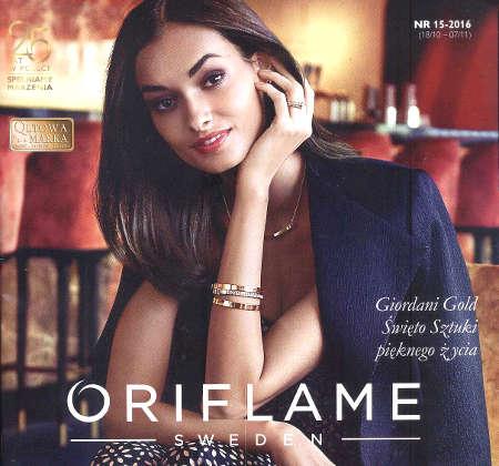 Oriflame katalog promocyjny nr 15 2016