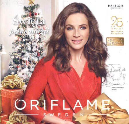 Oriflame katalog promocyjny nr 16 2016