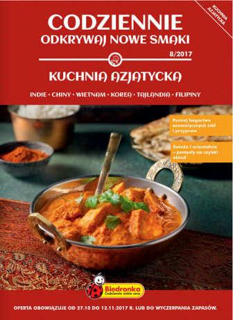 Biedronka Gazetka Kuchnia Azjatycka