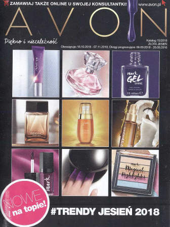 Avon Katalog promocyjny Nr 15 2018