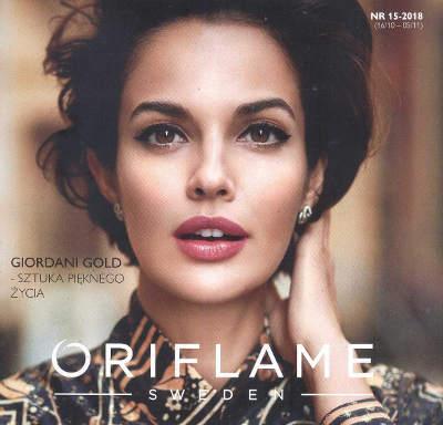 Oriflame katalog promocyjny nr 15 2018