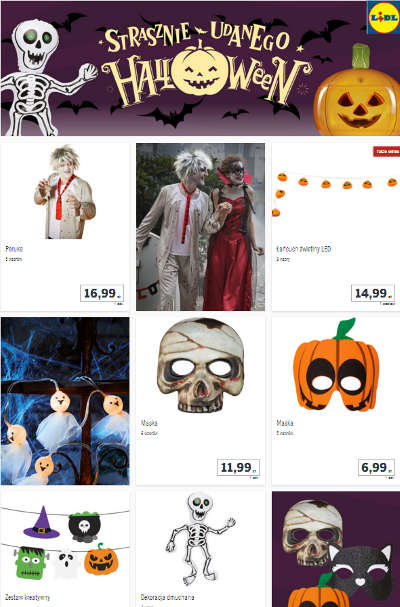 Lidl Halloween