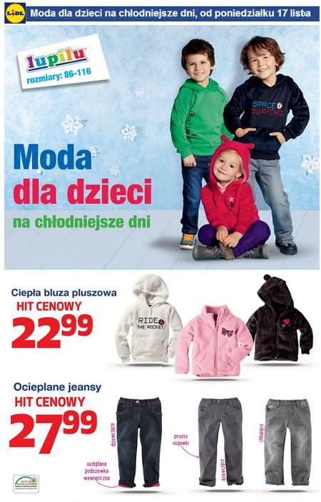 Lidl Moda dla dzieci