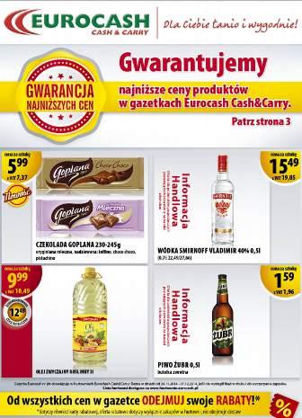 Eurocash gazetka promocyjna