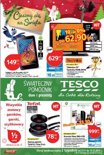 Tesco katalog promocyjny
