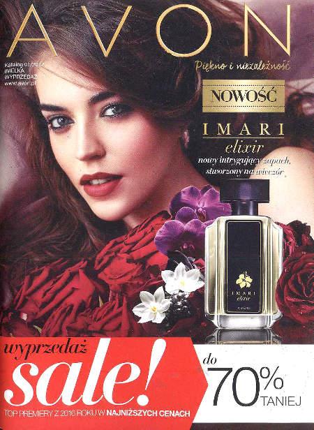 Avon Katalog promocyjny Nr 1 2017